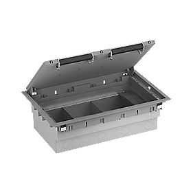 Standard 3-Compartment Floorbox