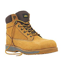 Site Superlight Pumice Safety Boots Honey Size 8