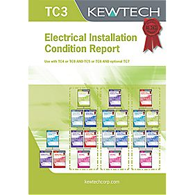 Kewtech Electrical Condition Inspection Report Pack of 20