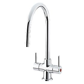 Bristan Beeline Sink-Mounted Mono Mixer Kitchen Tap Chrome