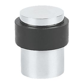Eclipse Floor Mounted Polished Stainless Steel Door Stop 30mm