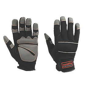 Scruffs Max Performance Full Hand Gloves Black Large