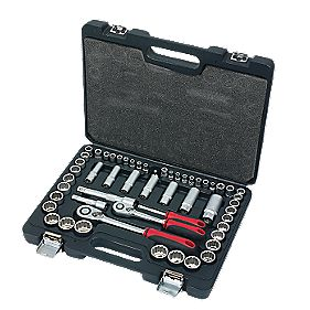 Forge Steel Mixed Socket Set 54Pcs