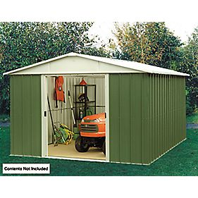 Yardmaster Sliding Door Apex Shed 10' x 13' x
