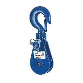 Snatchblock 4-Tonne Snap Hook Head 0.4m x 120mm 1 Piece Set