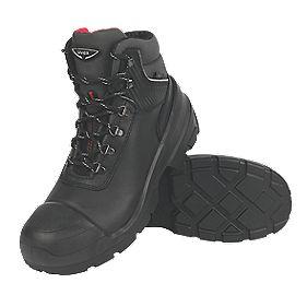 Uvex Quatro Pro Safety Boots Black Size 9