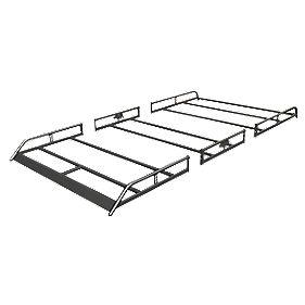 Rhino R570 Modular Rack High Roof/SWB LDV Maxus