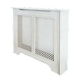 Victorian Radiator Cabinet Medium White 1220 x 210 x 918mm