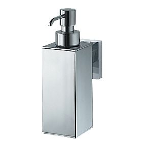 Aqualux Haceka Mezzo Soap Dispenser Chrome 53 x 99 x 160mm