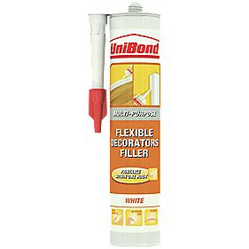 Unibond Flexible Decorating Filler White 310ml