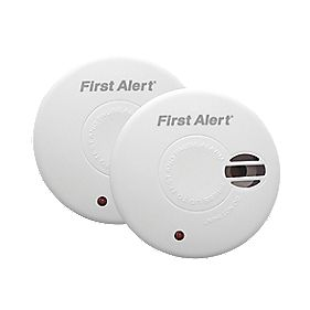First Alert Ionisation Smoke Alarm Twin Pack