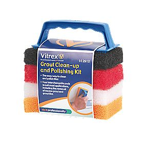 Vitrex Grout Clean Up & Polishing Kit