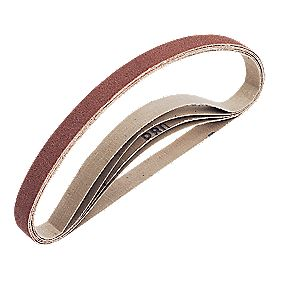 Cloth Sanding Belt 25 x 762mm 80 Grit Pack of 5