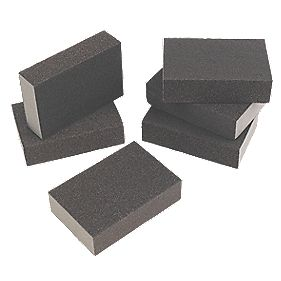Flexovit Sanding Sponges Fine / Medium Pack of 6