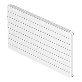 Barlo Single Panel Horizontal Designer Radiator White 578 x 600mm 1824BTU
