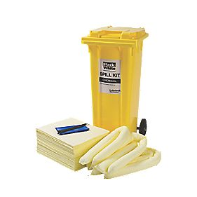Lubetech Black & White Maintenance Spill Response Kit 120Ltr