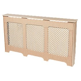 MDF Radiator Cabinet Large Unfinished 1710 x 200 x 900mm
