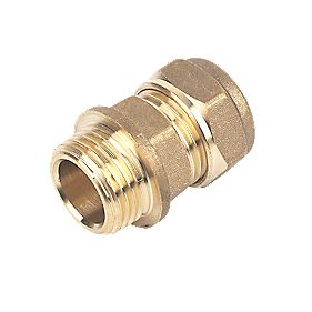 Male Coupler 15mm x ½""
