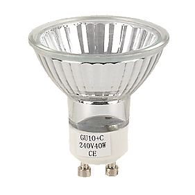GU10 Eco-Halogen Lamps 40W 240V Pack of 5