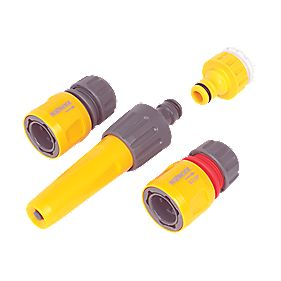 Hozelock Hose Fittings Starter Set 5 Pieces 5 Pieces