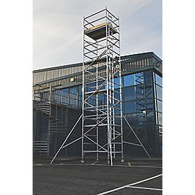 Lyte SF18DW82 Helix Double Width Industrial Tower 8.2m