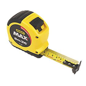 Stanley Max Magnetic Short Tape 8m