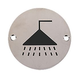 Shower Sign 76mm