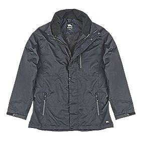 "Hyena Asgard Waterproof Jacket Black Large 53"" Chest"
