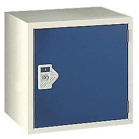 Security Cube Locker 450mm Blue