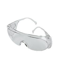 JSP Clear Lens Safety Over Specs