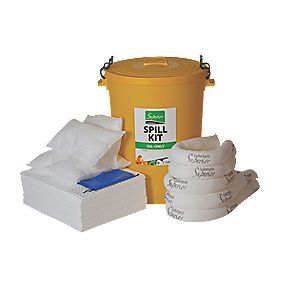 Lubetech 90Ltr Oil Spill Kit