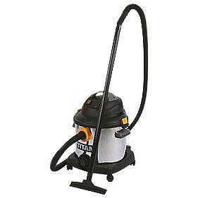 Titan TTB430VAC 1400W 25.3/18.9Ltr Wet & Dry Vacuum Cleaner 240V