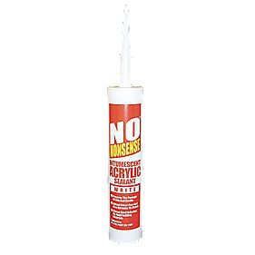 No Nonsense 11701702 Intumescent Sealant White 310ml