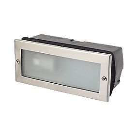 Corsica 40W Stainless Steel Brick Light