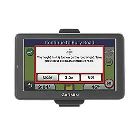 Garmin DEZL 560 GPS Sat Nav with In-Built Rechargeable Li-Ion Battery