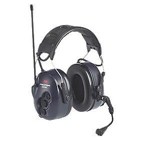 3M Peltor Lite-Comm Radio Communication Ear Defenders Black 31dB SNR