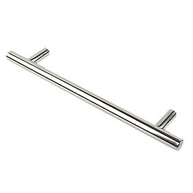Eurospec T Pull Handle Polished Stainless Steel 400mm