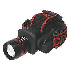 Am-Tech 3W LED 3 x AAA Hard Hat Headtorch