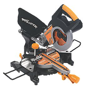 Evolution RAGE3-S 210mm Sliding Mitre Saw 240V