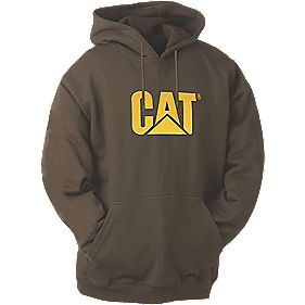 CAT CW10646 Trademark Sweatshirt Dark Earth XL