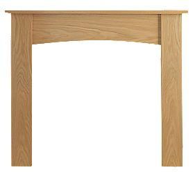 Be Modern Darwin Surround Set Oak Veneer