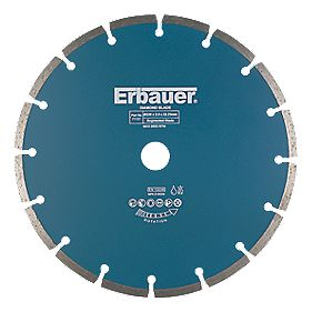 Erbauer Sintered Diamond Blade Segmented 230 x 2.5 x 22.23mm