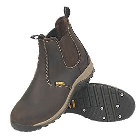 DeWalt Radial Dealer Safety Boots Brown Size 7