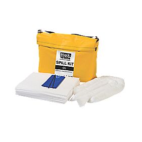 Lubetech 50Ltr Black White Oil Spill Response Kit