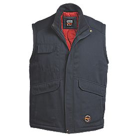 Timberland Pro 112 Padded Gilet Castor Grey Medium 37-40""