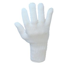 Heat-Resistant Glove White Large