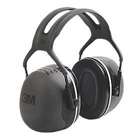 3M Peltor X5 Ear Defenders Black 37dB SNR