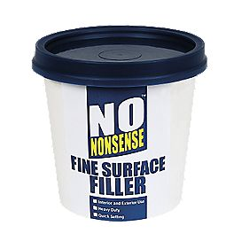 no nonsense fine surface filler white 600g multi purpose. Black Bedroom Furniture Sets. Home Design Ideas