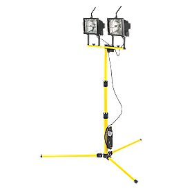 Double Tripod Site Light 2 x 400W 240V