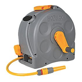 Hozelock 2-in-1 Compact Reel with 25m Hose